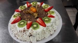 Kohupiima-biskviit tort